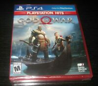 Playstation 4 PS4 God Of War Video Game New Factory Sealed 2018