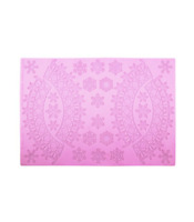 SNOWFLAKES Silicone Lace Maker (use with Cake Lace or flexipaste icing) Mat