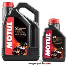 Aceite Motos 4T Motul 7100 10W50, pack 5 litros