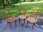 Antique Kohn & Mundus (Czechoslovakia) after Thonet Bentwood Bistro Chairs ~ 3