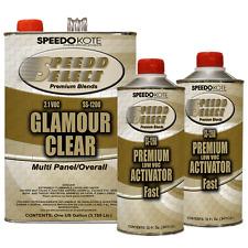 Ultra High Gloss 2.1 voc Clear Coat, 2:1 Clearcoat 6 Qt Fast Kit, SS-1200/60