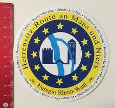 Aufkleber/Sticker: Herrensitz Route An Maas Und Niers - Rhein-Waal (110416104)