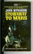 STOWAWAY TO MARS by Wyndham, rare US Gold Medal #2646 sci-fi pulp vintage pb