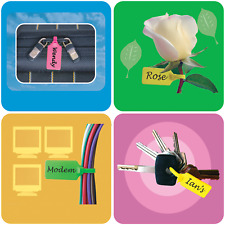 Security Tags - Secura Tags | Keep your wires together and labeled | QTY of 50