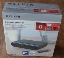 Belkin 54Mbps Wireless G Modem Router Starter Kit - Includes Wireless USB