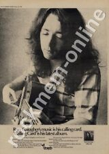 Rory Gallagher Calling Card CHR 1124 LP advert 1976