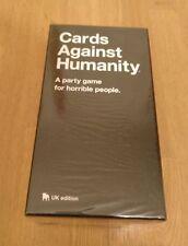 Cards Against Humanity Uk Edición Fiesta Juego de Cartas de tablero Humor Negro Nuevo Sellado
