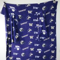Vintage University of Washington Stadium Robe Blanket Washington Huskies DAWGS