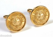 State Seal of Texas Cuff Links  (Goldtone)