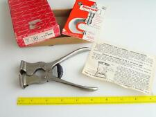 VTG Starrett 235 Adj. Jaw Cut Nippers Tile And Wire NOS MIB Unused Tool Rare NEW
