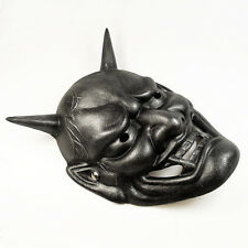 Hot Sell Japanese Buddhist Hannya Evil Resin Mask  For Halloween Masquerade