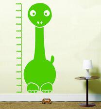 Dinosaur Kids Height Chart Vinyl Wall Art Stickers