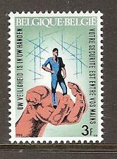 BELGIUM # 698 MNH INDUSTRIAL SAFETY