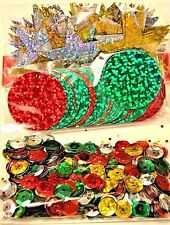 HOLIDAY SEQUINS Christmas Decor 1.05 oz NEW IN PACKAGE! Free First Class In U.S.