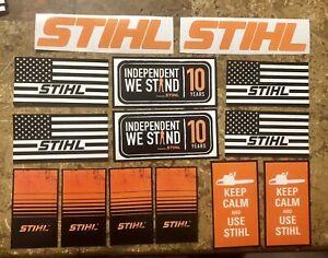 stihl decals stickers