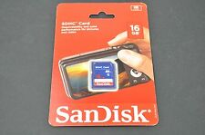 Brand New SanDisk 16GB Class 4 SDHC Memory Card DH9039