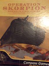 Operation Skorpion Rommel's First Strike, Halfaya Pass, May 1941 board game