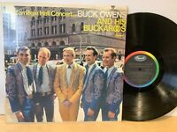 CARNEGIE HALL CONCERT WITH BUCK OWENS AND HIS BUCKAROOS - LP NM- Super Clean!