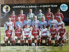 Liverpool/adidas Team Poster