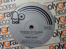 "Terry Jacks ""Seasons In The Sun"" 1974 BELL NZ or Oz 7"" 45rpm"