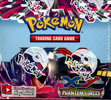 Pokemon XY X&Y X Y Phantom Forces Brand New Factory Sealed Booster Box