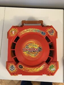 Beyblade Metal Fusion Travel Arena Carry Case Hasbro And Bundle Of Items