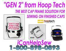 Embroidery Machine Hat Hoop Cap Frame - Gen 2  Tajima Hat Hoops