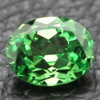 8.38CT UNHEATED 10X12MM Green SAPPHIRE OVAL Cut AAAA+ LOOSE GEMSTONE