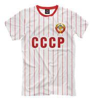 USSR sport wear t-shirt Soviet Union CCCP team retro style СССР coat of arms