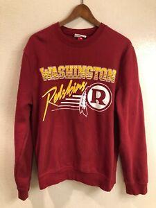 Washington Redskins authentic Mitchell & Ness crew neck sweatshirt (size: M)