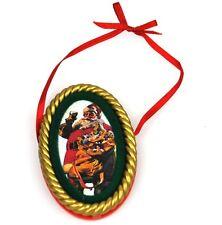 COCA-COLA EE.UU. Decoración de árbol navidad adornos - SANTA 1948 Ornamento