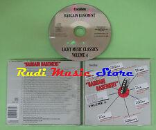CD LIGHT MUSIC CLASSICS VOLUME 4 BARGAIN BASEMENT compilation no mc lp dvd (C25)