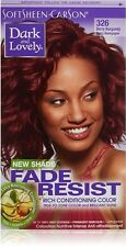 Dark and Lovely Fade Resist Conditioning Color, Berry Burgundy [326] 1 ea 6pk