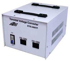 2400W Isolated Toroidal 240V to 120V Step Down Transformer USA to Australian