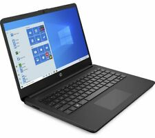 "HP 14s-fq0508sa 14"" Laptop AMD 3020e 64GB eMMC 4GB RAM Windows 10 S Black Currys"