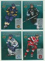 2019-20 Upper Deck CHL Scouting Report U-Pick COMPLETE YOUR SETS