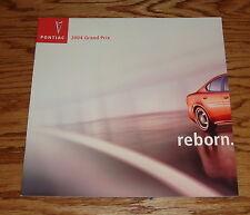 Original 2004 Pontiac Grand Prix Sales Brochure 04