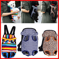 Legs Out Front Pet Dog Puppy Cat Carrier Backpack Tote Holder Bag Sling Outdoor