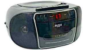 Bush Stereo Boombox Portable CD Cassette Player Retro Tape Recorder FM Radio MP3