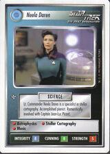 STAR TREK CCG WHITE BORDER PREMIERE 1995 BETA RARE CARD NEELA DAREN