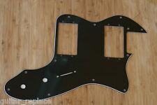 Golpeador Pickguard Telecaster Thinline 72-79 USA Made Negro Black 3 Capas Tele