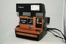 Polaroid Sun 640 copper steampunk, uses impossible film, tested lomography(a74)