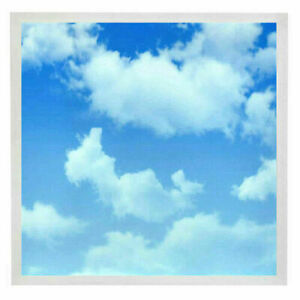 48W Sky Cloud Pattern LED Flat Slim Panel 4800LUMENS 600x600 mm 5YEARS WARRANTY