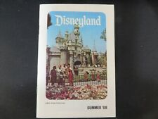 1968 Disneyland Theme Park 27 Page Summer Guide Booklet