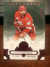 2017-18 ARTIFACTS HENRIK ZETTERBERG Ruby 145/299 DETROIT RED WINGS
