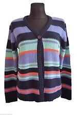 Gestreifte Damen-Pullover & Mittel mit Hüftlang und Acryl