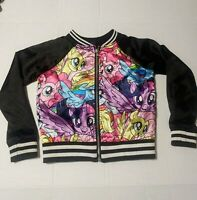 My Little Pony Satin Baseball/Varsity Jacket Rainbow Dash/Flutter Shy/Apple Jack