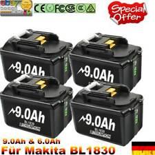 4x Für Original Makita Ersatzakku BL1860 18V 9AH LXT Li-ion BL1850 BL1840 BL1830