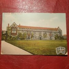 More details for antique 1909 postcard st. johns college oxford the milton series postally used