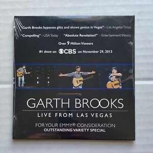 GARTH BROOKS Live From Las Vegas 2013 US PROMO Only Emmy FYC Sealed DVD Country